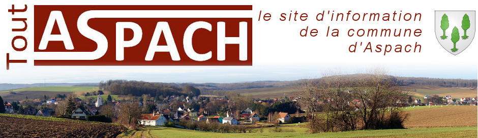 site d'information commune aspach